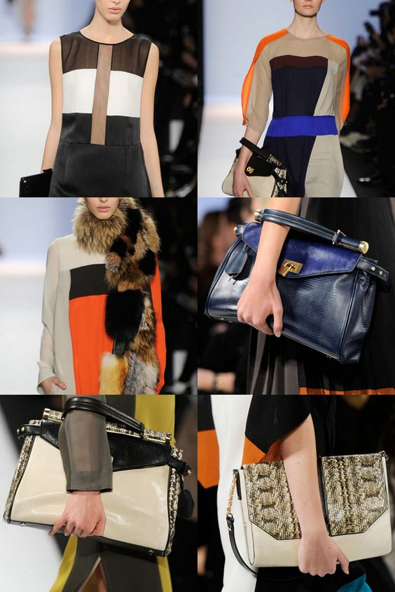 A very geometric fall 2012 collection from BCBG Max Azria