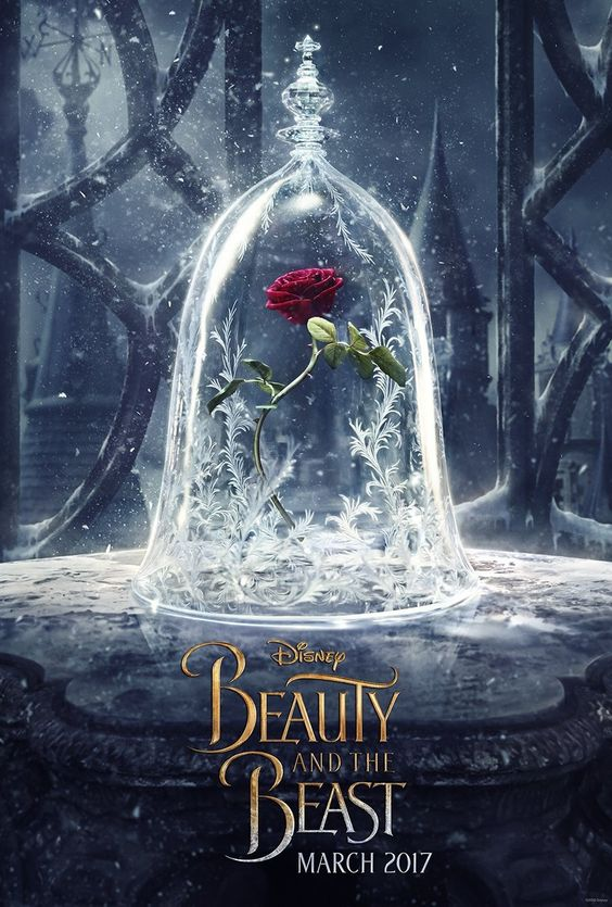 The first enchanting poster released for Disney's live action 'Beauty And The Beast'! The tale as old as time hits theaters on March 17, 2017.: