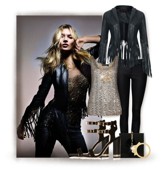 """""""TOPSHOP X KATE MOSS"""" by jiabao-krohn ❤ liked on Polyvore featuring Witchery, Topshop, R.J. Graziano, Charlotte Olympia, topshop, KateMoss and topshopxkatemoss"""