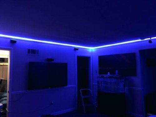 Led Strip Lights In 2021 Led Room Lighting Led Lighting Diy Led Lighting Bedroom