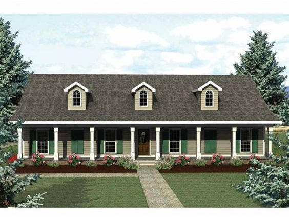 Country Ranch Style House   Bedrooms  Full Baths  Story     Eplans Country House Plan   Options Galore   Square Feet and Bedrooms from Eplans   House Plan Code