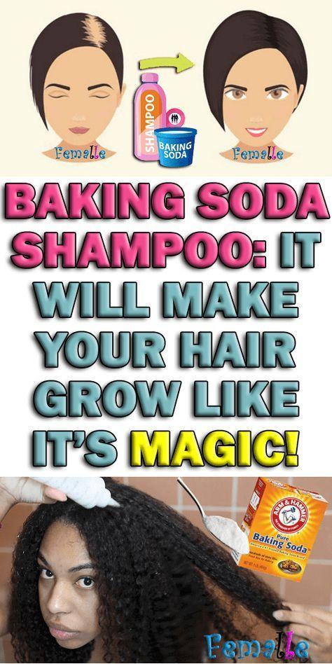 Baking Soda Shampoo It Will Make Your Hair Grow Like It S Magic