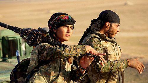 Kurdish YPG Fighters | Warrior woman, Female fighter, Military women