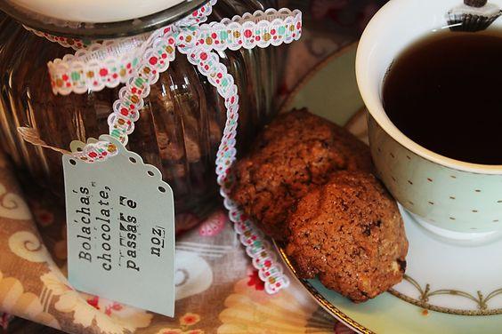 my sweet cloud {Chocolate nut cookies}