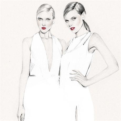 Kelly Smith -Fashion Illustrations; Top Artist and Illustrators – Trends, Craze Art