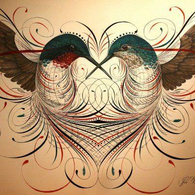 Caligrafando com Arte!: Calígrafo Jake Weidmann