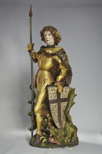 Niclaus Gerhaert von Leyden (um 1430–1473), Kopf eines Propheten, sog. Jakob von Lichtenberg, Straßburg, 1463, Rötlicher Sandstein, Höhe 26 cm, Musée de l'Oeuvre Notre-Dame, Strasbourg, Foto: M. Bertola, © Musée de l'Oeuvre