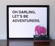 Darling, oh darling.