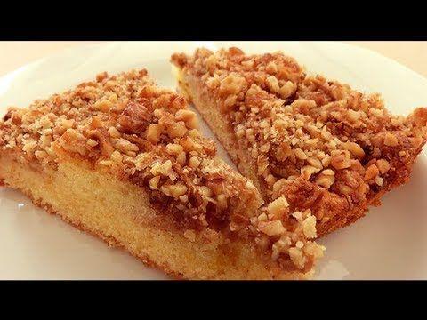 Blog Post 421 Video كيكة التفاح بالقرفة و الجوز كيكة التفاح التركية Tag Blog Post Apple Walnut Cake Recipe Easy Cake Recipes Turkish Recipes