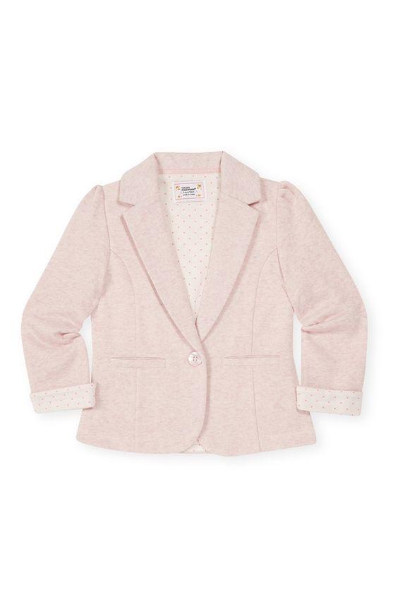 Primark - Lichtroze jersey blazer