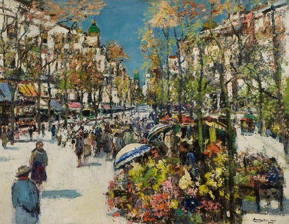 James Kay - Street of Flowers, Barcelona