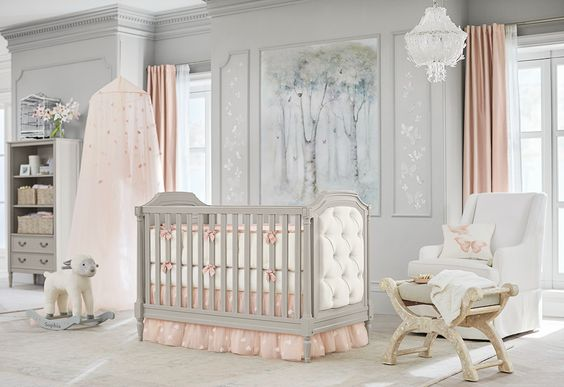 Taking from her unforgettable bridal designs, the Monique Lhuillier and Pottery Barn Kids collection adds magic and fantasy to the nursery and kids room.