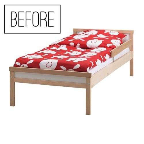 a perfect montessori bed in ikea how to make your own montessori pinterest beds. Black Bedroom Furniture Sets. Home Design Ideas
