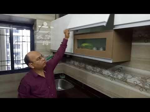 Modular Kitchen Mumbai Laminate Finish On Marine Ply Hettich Tandem Drawers Pratham Kitchen Youtube Modular Kitchen Cabinets Kitchen Hettich