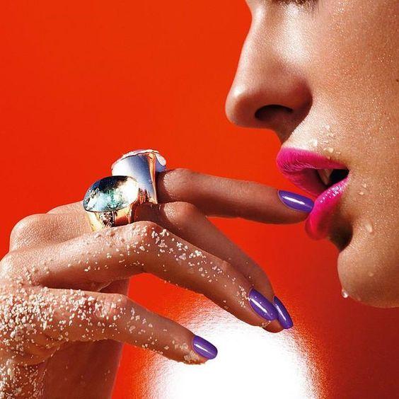 <3  #nails #nailart #manicure #fashion