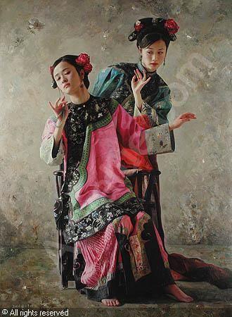 wang-ming-yue-1963-china-zwei-junge-frauen-1963472