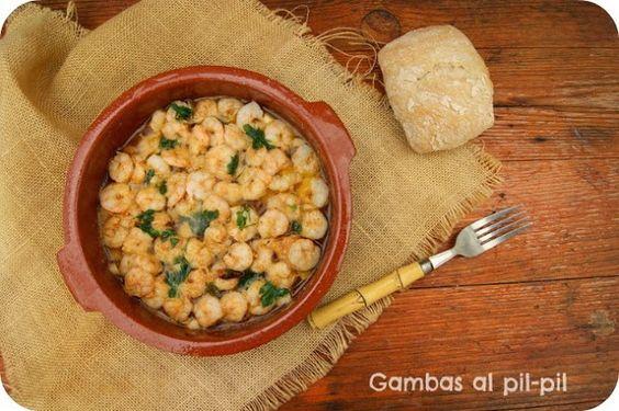 Atrapada en mi cocina: GAMBAS AL PIL-PIL (TYPICAL SPANISH)