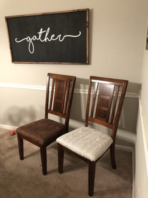 How To Reupholster Kitchen Chairs Reupholster Furniture