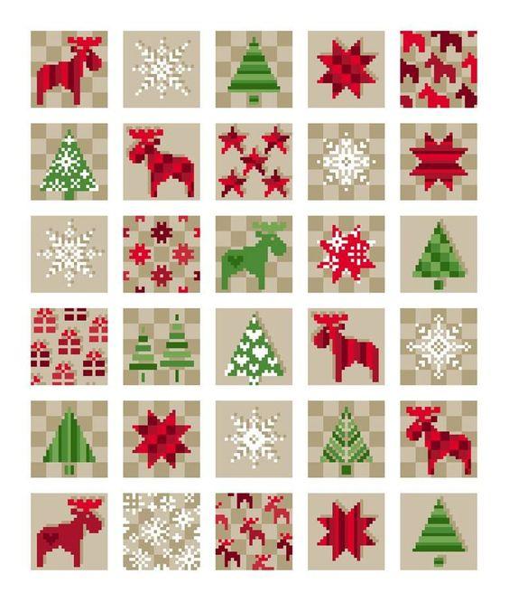 Unisono Stickvorlagen - Winter/Weihnachten                              …