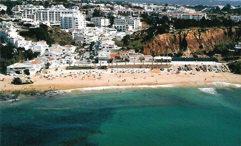Praia de Olhos d'Água. Albufeira. Algarve, Portugal