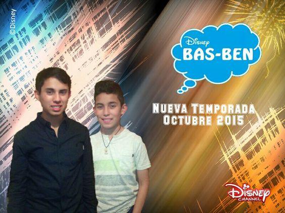 Bas-Ben On Disney Channel