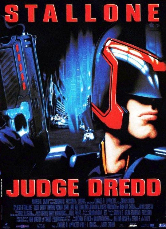 Judge Dredd 1995 Dir Danny Cannon Sylvester Stallone Armand Assante Diane Lane Cine Fantastico Peliculas Cine