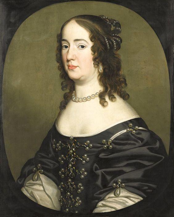 1647 Amalia van Solms by Gerrit van Honthorst (Rijksmuseum - Amsterdam Holland):