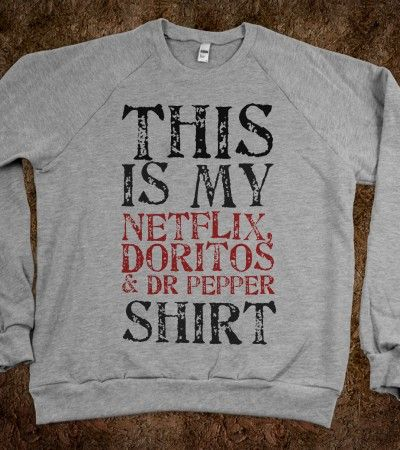omg i want this! only thing is, i want to change doritos to chips and salsa! the text on this shirt is edit-able. click the link! :)