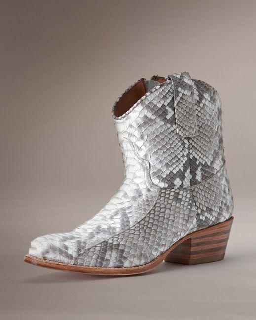 Women's Deborah Short Boot - Natural