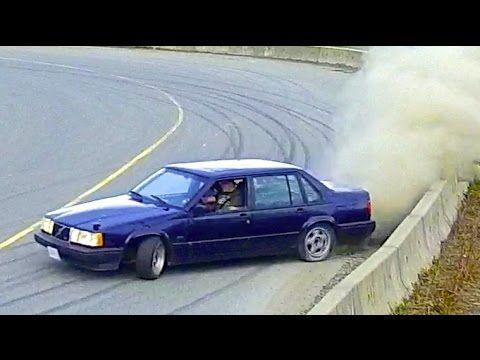 daily driven volvo 940 turbo drift car the swed sled youtube volvo drifting cars turbo daily driven volvo 940 turbo drift car
