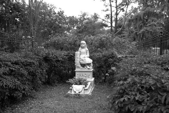 Gracie Watson @ Bonaventure Cemetery, Savannah GA