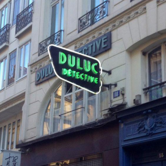 Duluc Détective (rue du Louvre).