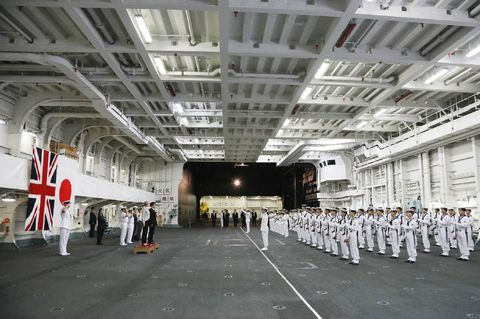 This hangar could be home to a fleet of F-35s in the near future.