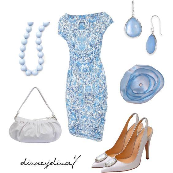 China Blue by disneydiva7, via Polyvore