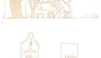Artes de Despicable Me 2 e The Lorax, por Paul Mager