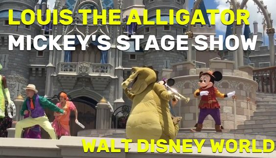 NEW Louis the Alligator debuts in Mickey's Royal Friendship Faire at Mag...