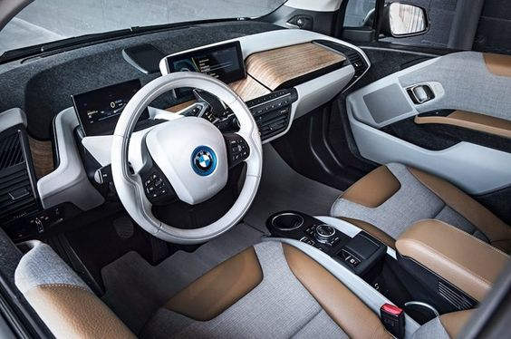 2015 BMW i3 | Interior Design