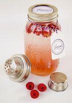Bild: Ball Mason Jars kaufen Glasbehälter Cocktailshaker Detoxwasser Glas Smoothie Vintage Party Retro