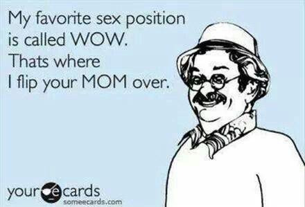 Favorite sex position ;)