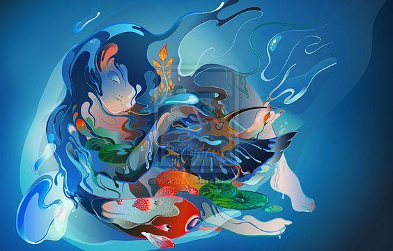 Qingming - Cissy Hu: Qingming Cissy, Cissy Hu, Art Illustration