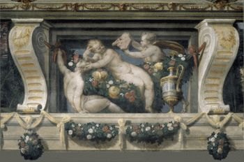 Hall of Landscapes-Palazzo Poggi