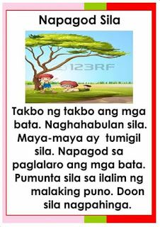 Teacher Fun Files Tagalog Reading Passages 5 Reading Passages Kindergarten Reading Worksheets Grade 1 Reading