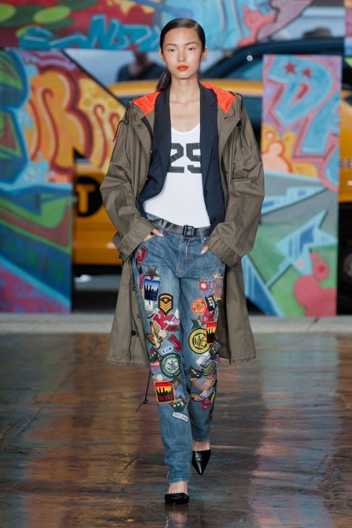 modelopolis:    Xiao Wen Ju for DKNY Fashion Show New York (Spring/Summer 2014)