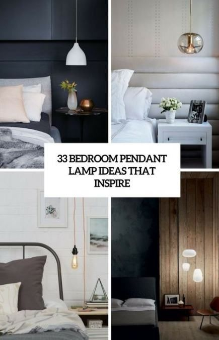 27 Super Ideas For Decor Modern Bedroom Apartment Therapy Pendant Lighting Bedroom Pendant Lamps Bedroom Modern Bedroom Lighting