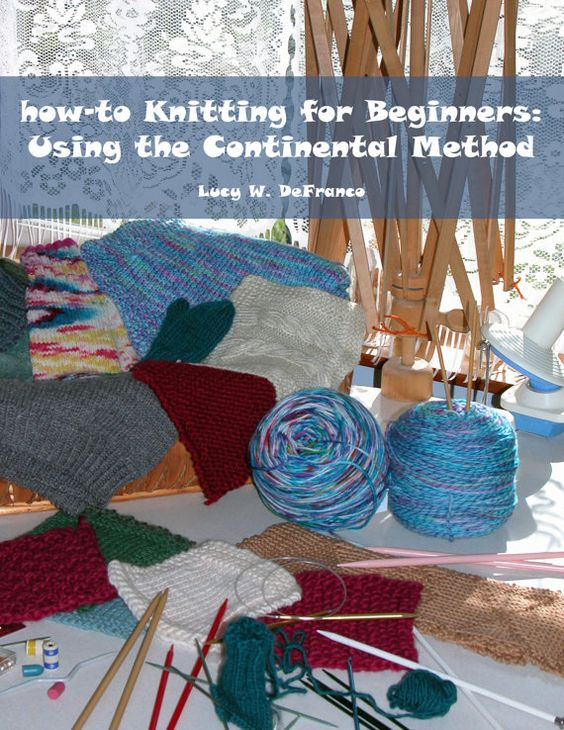 Knitting Book For Beginners : How to knitting for beginners using the continental