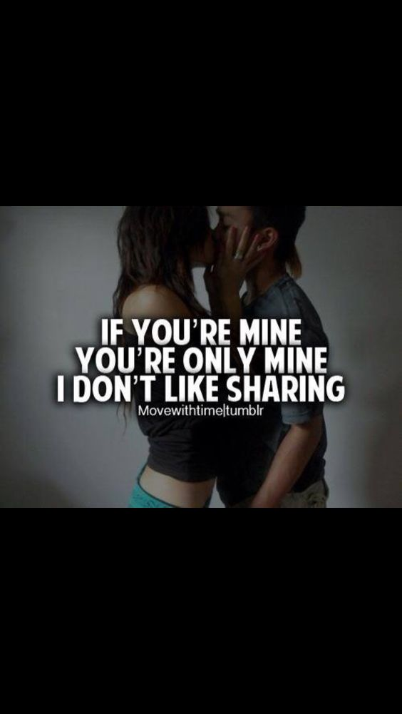 If you're mine