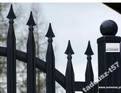 Ogrodzenia, bramy, barierki, sztachety ogrodzenie www.solmetal.pl: