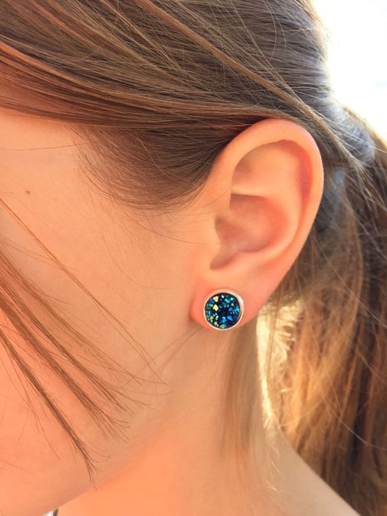 NEW Druzy agate earrings / Pre-order special by AnnabellandLouise