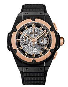 Reloj Hublot de la colección King Power Cerámica King Gold en Oro Rosa & Cerámica para Caballero