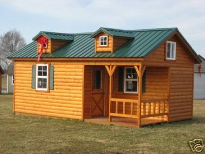 Details About Free Shipping 14x28 Modular Amish Cabin